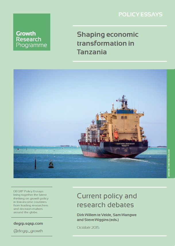 What are the challenges &amp; opps for #structuraltransformation in #Tanzania? Our policy essays explore:  http:// degrp.squarespace.com/publications-p rogramme/2015/10/8/shaping-economic-transformation-in-tanzania &nbsp; …  #econgrowth<br>http://pic.twitter.com/AtkkLIC3WV
