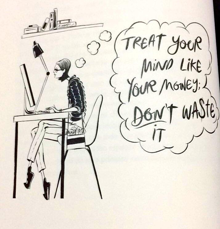 """""""Trate a sua mente como trata o seu dinheiro: Não desperdice!"""" #Girlboss #girlbossnetflix #bomdiapic.twitter.com/uMVWIgjUR1"""