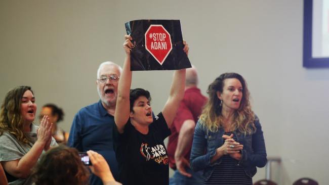 Thumbnail for Coal part of energy mix says Qld Premier to #stopAdani questions