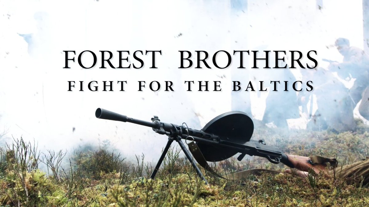 This is the story of the Forest Brothers who fought the Soviet army for their homelands after WWII https://t.co/4JcfuJPmeO