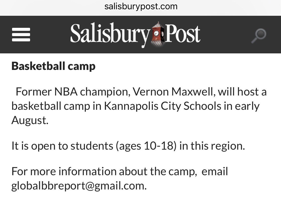 Vernon Maxwell VernonMaxwell11