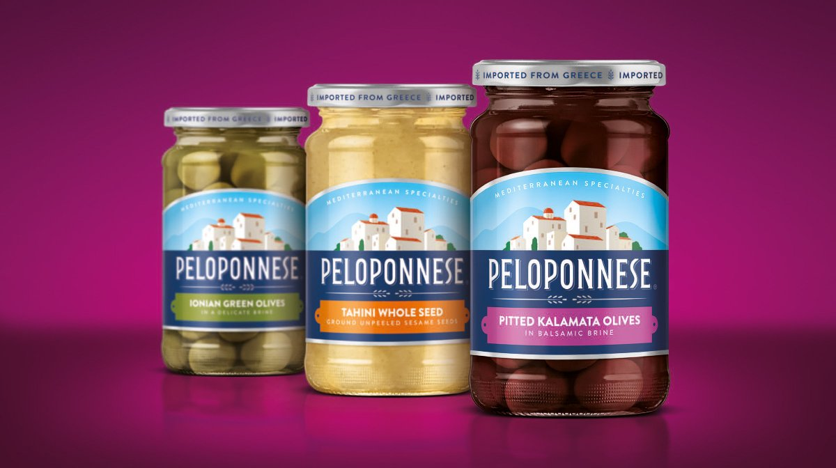 Our visual identity redesign for Peloponnese @WorldPackDesign
