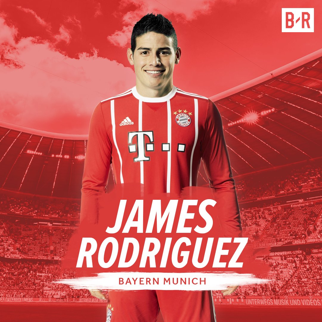 9301b938e5f james rodriguez joins bayern munich on 2 year loan transfer from real madrid