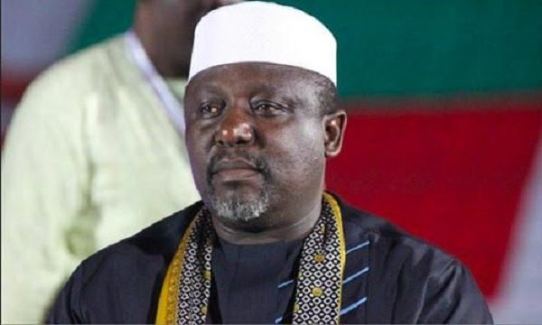 The governor of Imo State, Owelle Rochas Okorocha has barred the traditional rulers in his state from speaking English language.