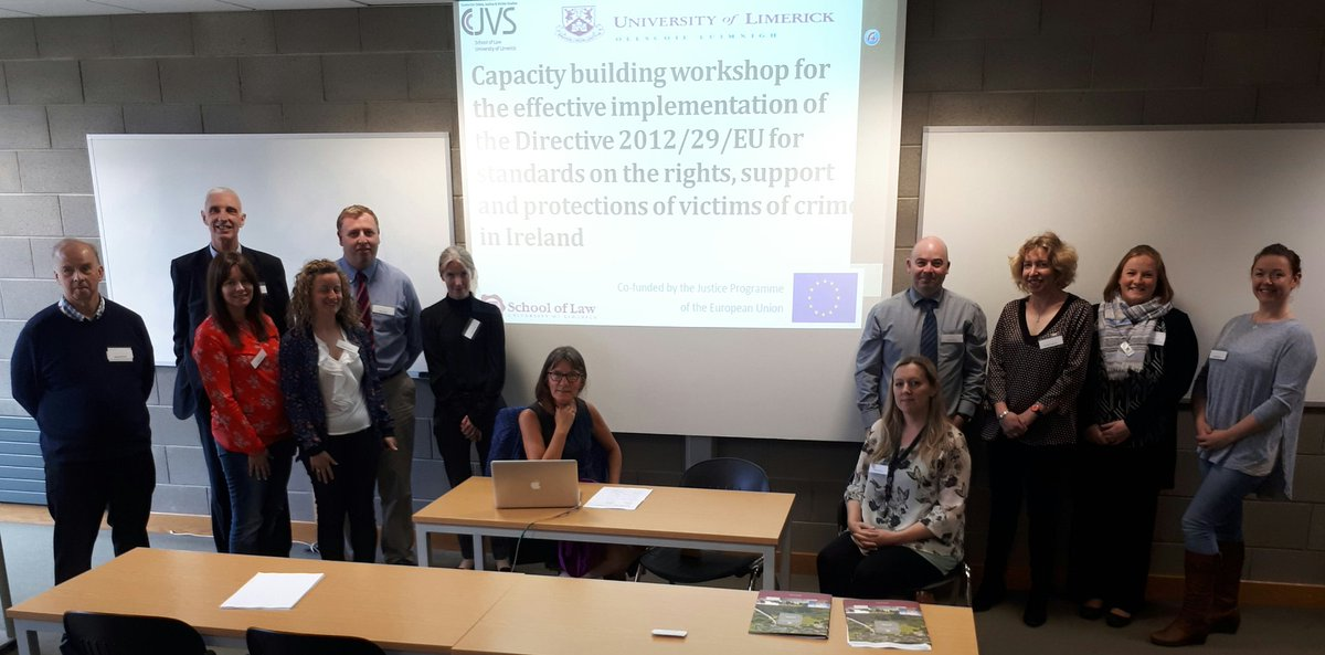 Andrea Ryan @ULSchoolofLaw hosts the second #interagencies workshop on #EUVictimsDirectives #researchimpact @ShaneKil<br>http://pic.twitter.com/GJVdfVTnGJ