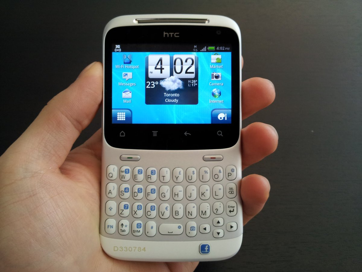 A reminder that, six years ago, Android phones looked like this https://t.co/pMrVcxBwFG