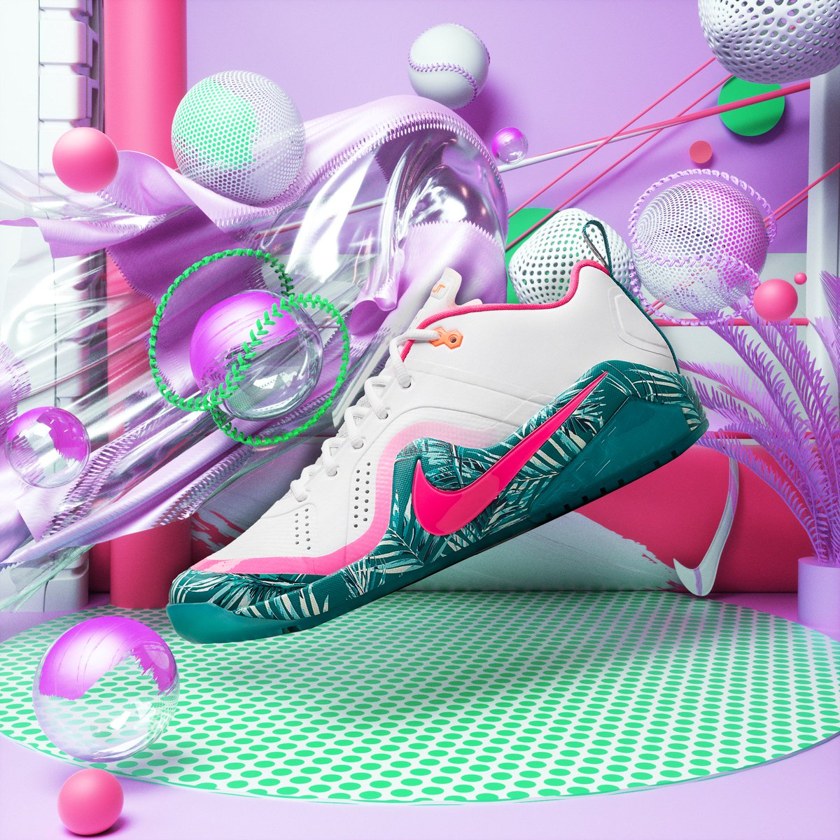 6471bcf653d Nike Force Zoom Trout 4 turf trainers and cleats from the Miami Nights  Collection  TEAMNIKE  NikeBaseball… https   t.co geBDJtIkGZ