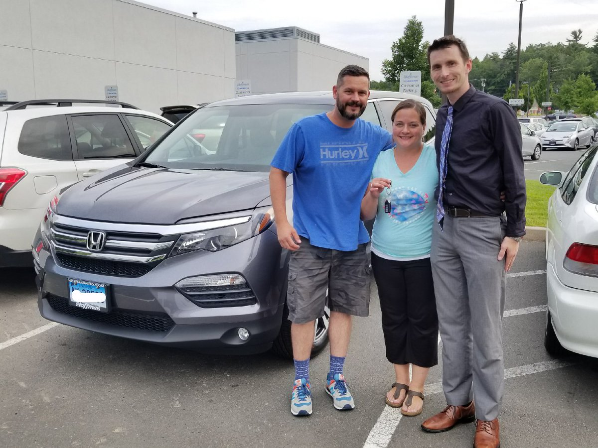 Hoffman Honda On Twitter Nicole And Mark Are Ready To Fly In Their 2017 Honda Pilot Ex Thanks To Brand Specialist Will Dodson Welcome To The Hoffman Honda Family Https T Co X9hzcerh4l