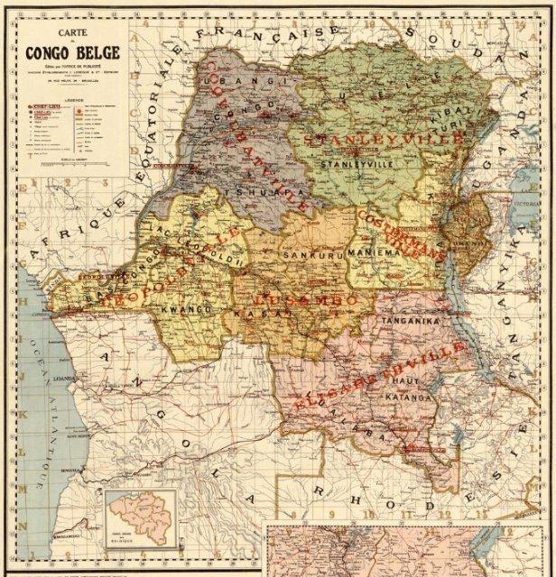 Carte du Congo belge en 1896, alors possession personnelle du roi Léopold II: #Congo #Belgium #BelgianCongo #Maps https://t.co/s9M5bvXvl7 https://t.co/1l6DCR27Wk