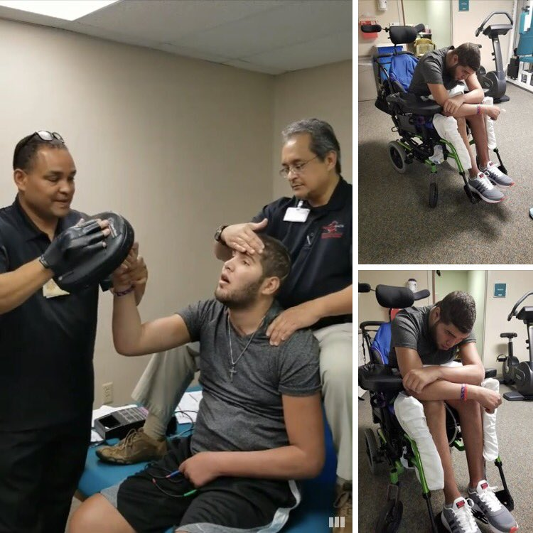 Prichard Colon working hard in therapy. Let's go champ! His mother is an angel. #boxing https://t.co/6FIPUa0ICn