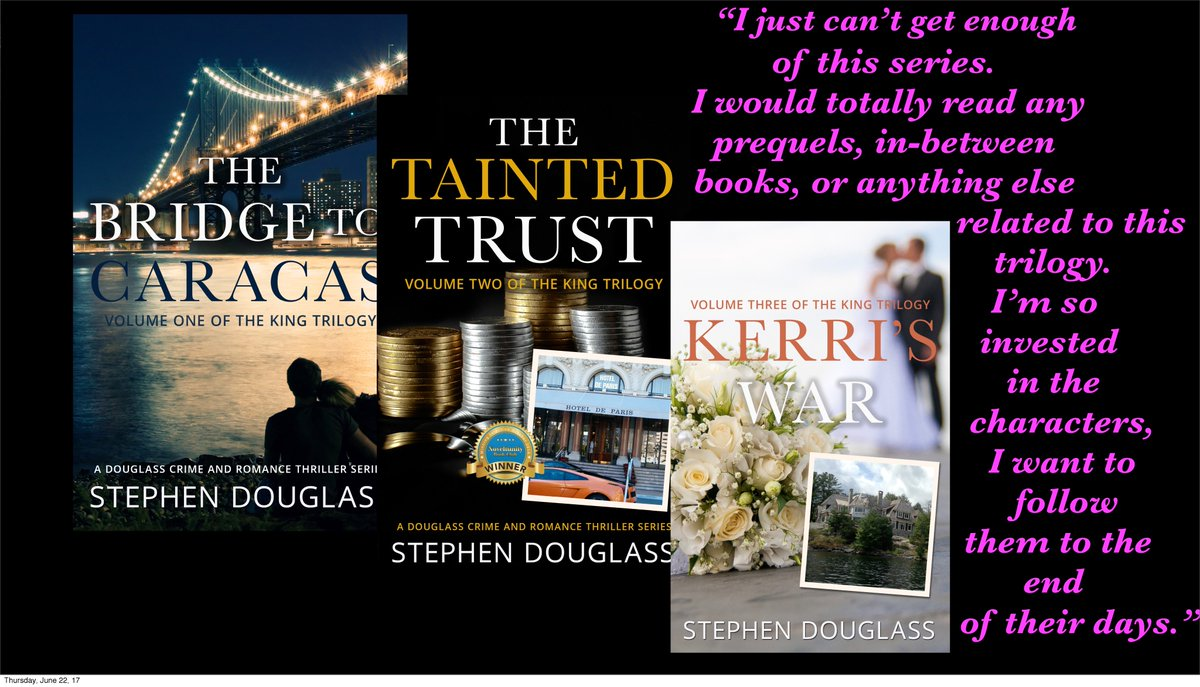 €�i Loved This Trilogy! Read The Bridge To Caracasand You'll Definitely  Want To Read The Next Two!
