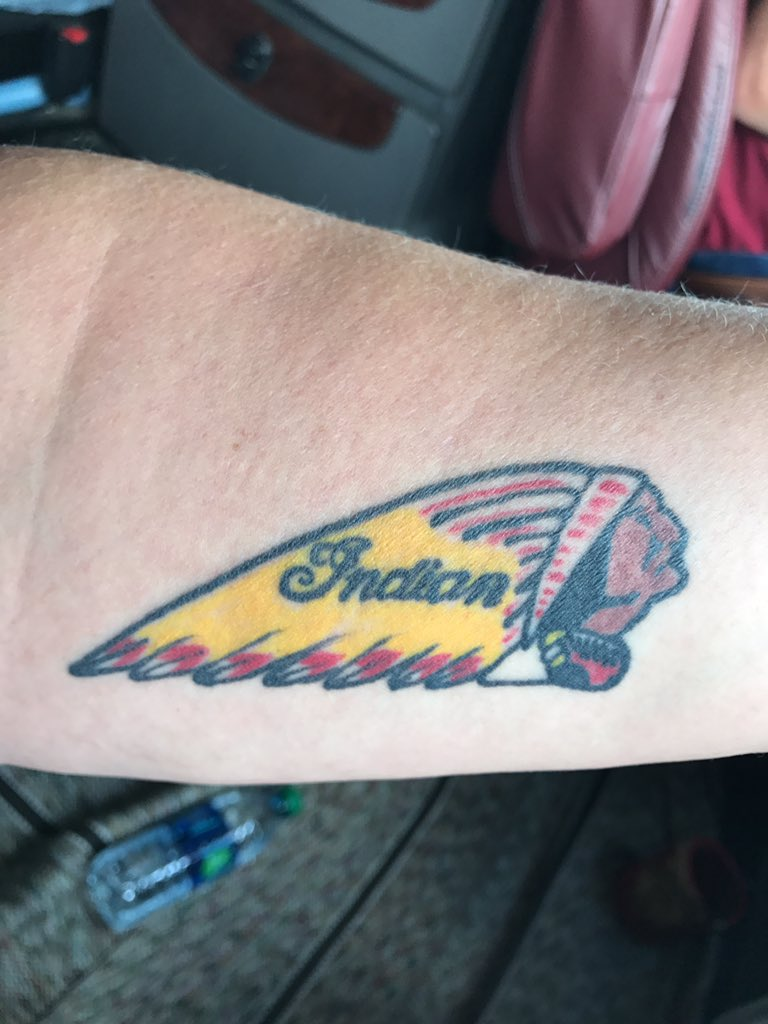 Indian motorcycle on twitter if riding is in your blood for Indian motorcycle tattoo