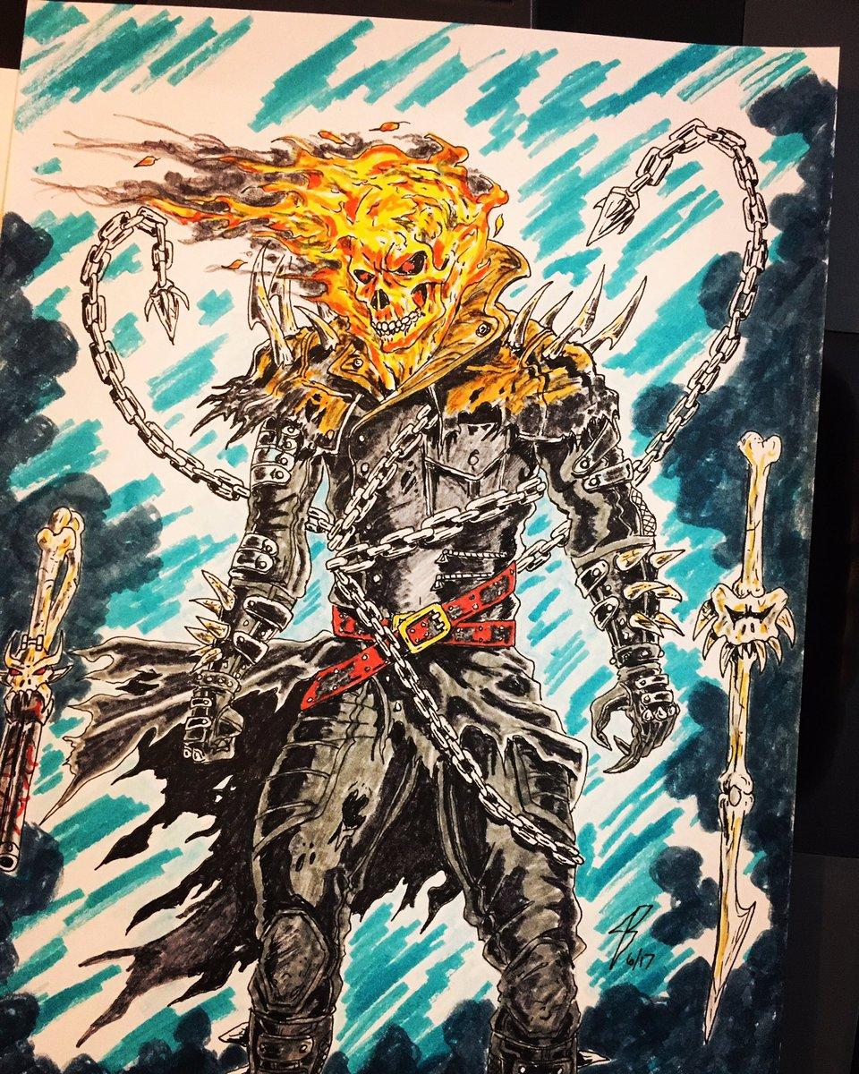 Jeremy Braden On Twitter Ghost Rider Concept Ghostrider