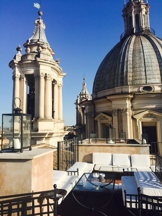 Romeloft On Twitter Aperitif Time At Terrazza Borromini