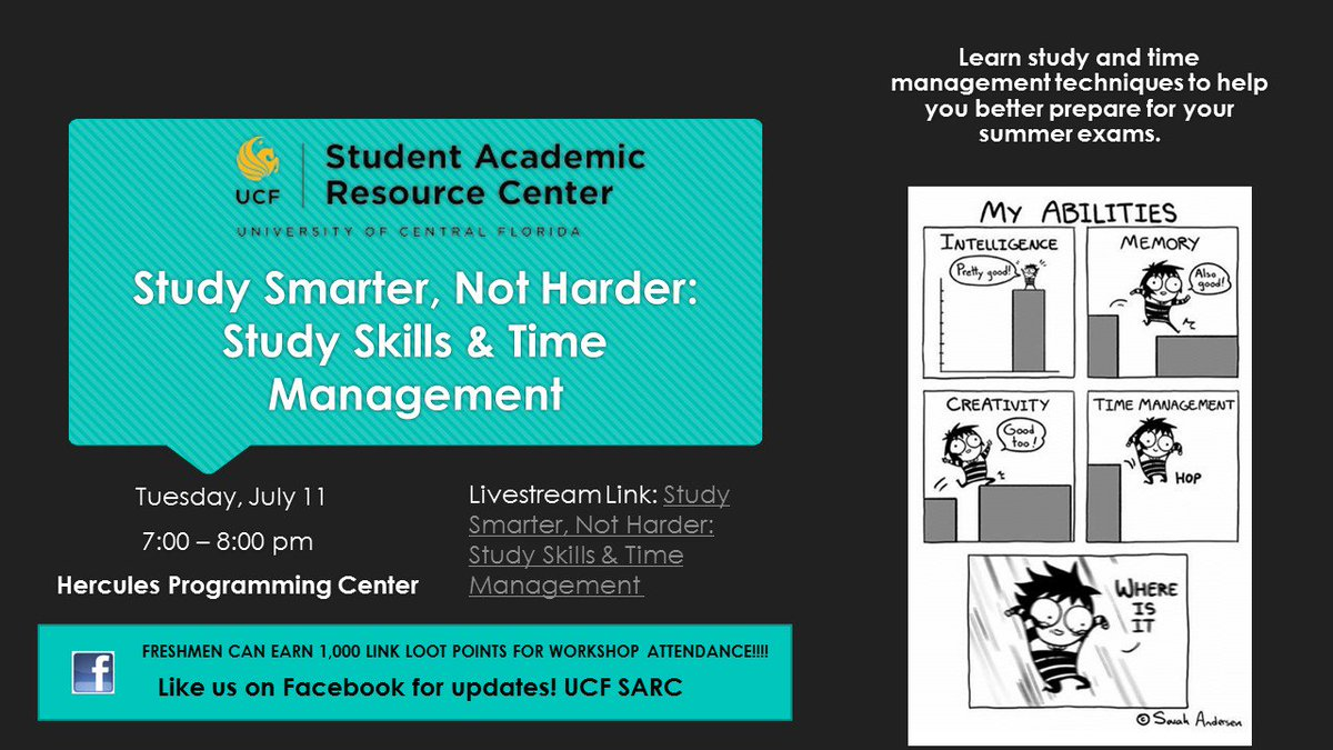 Ucf Sarc On Twitter Check Out Our Workshop Today For The