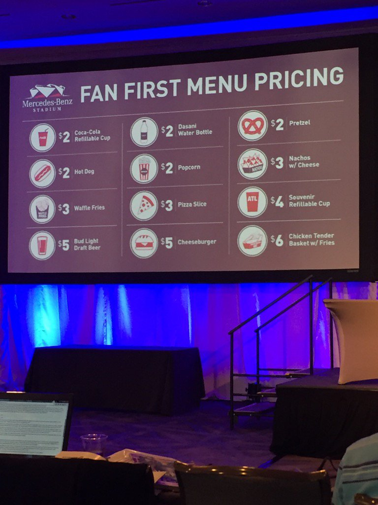 You don't have to be a Falcons fan to be a fan of concession prices at Mercedes-Benz Stadium. https://t.co/0QSahSOZXU