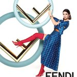 new @Fendi campaign shot by Karl 💙