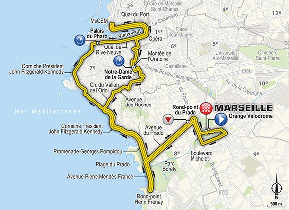 Oggi al TOUR DE FRANCE c'è la crono di Marsiglia: Diretta da vedere su Streaming Rai