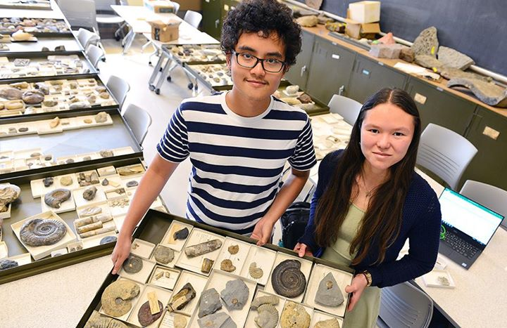 test Twitter Media - Students Catalog Wesleyan's Lost Fossil Collections https://t.co/1J71RlTn5G https://t.co/AW7jlB5zNd