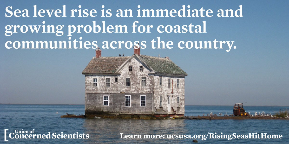 New analysis can serve as a guide for cities in planning for, addressing sea level rise: https://t.co/5mKuuapf28 #ActOnClimate