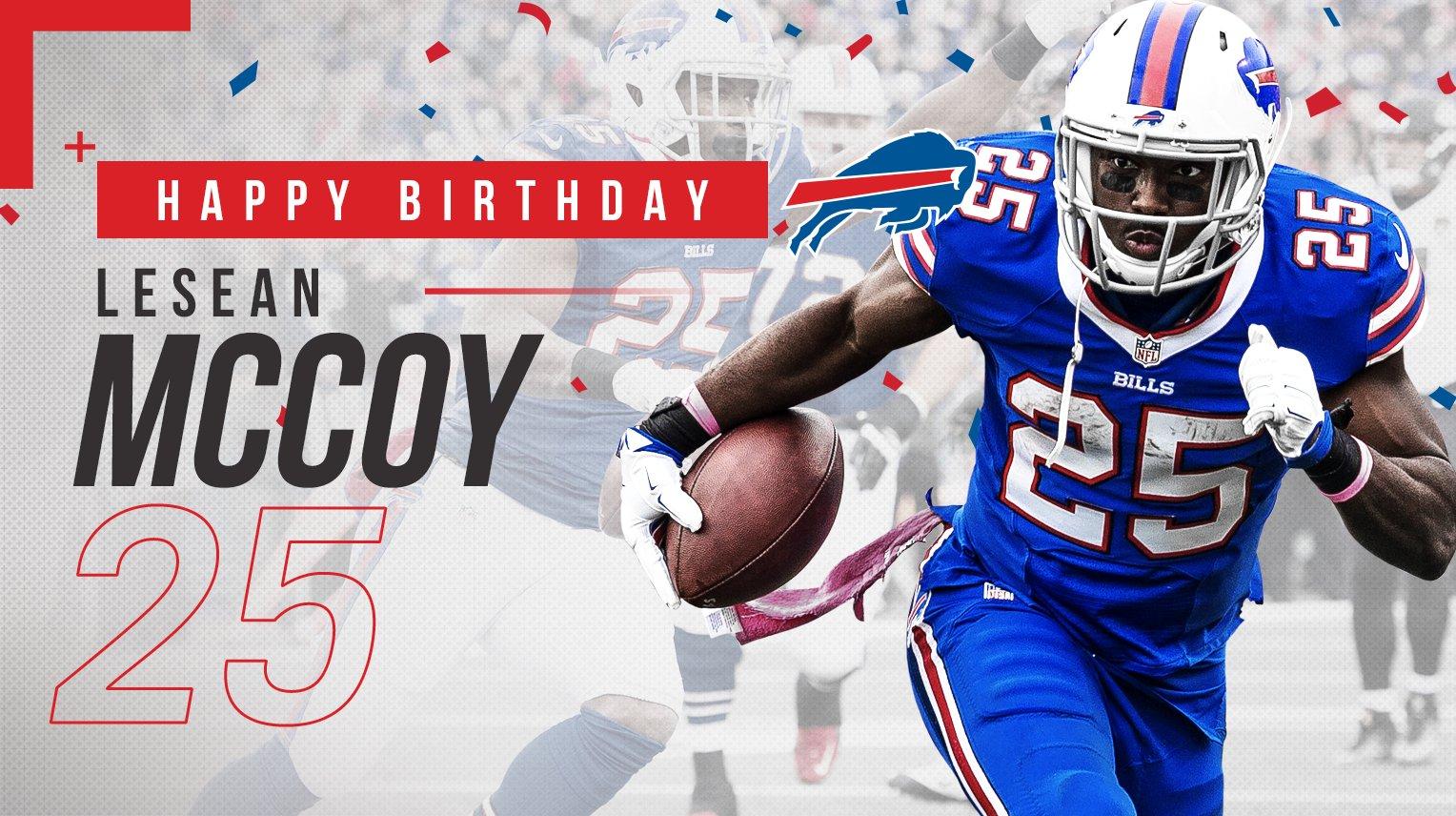 Shady! Shady! Shady!  Happy 29th birthday to LeSean McCoy!