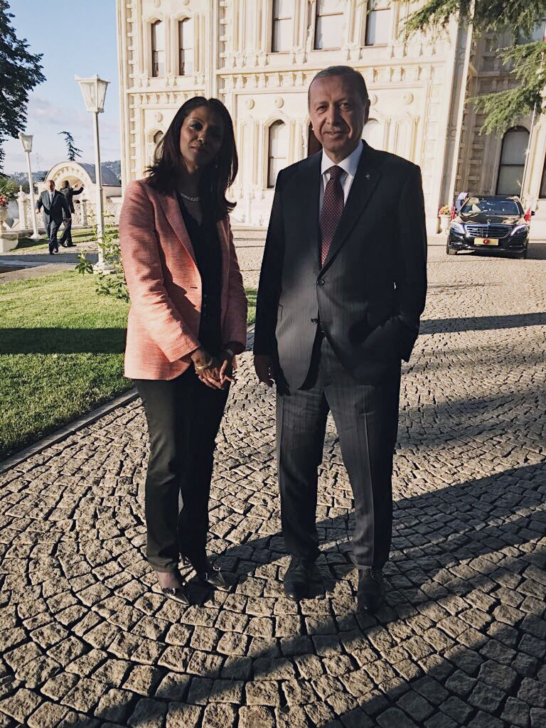 Zeinab Badawi On Twitter With President Erdogan Of Turkey Wide Ranging Interview On Bbchardtalk Marking A Year Since The Failed Coup 1 2 Https T Co Jmtezp7mz1