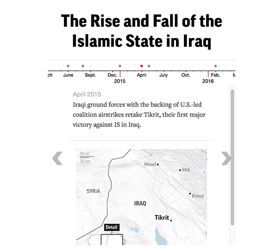 The rise and fall of the Islamic State group in Iraq (interactive timeline). https://t.co/VImFRzhRrX