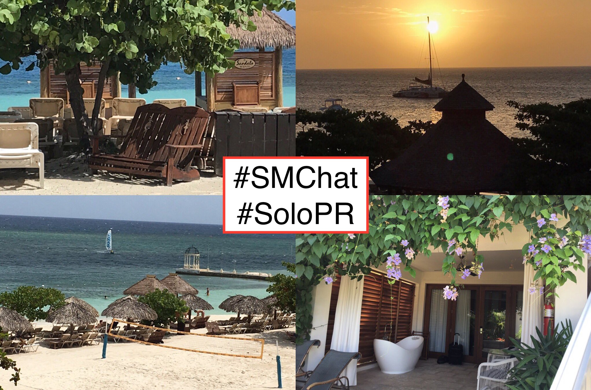 RT @sharonmostyn #smchat #solopr Q1 How do you keep up when you're supposed to be taking time off? https://t.co/82B567Yqrc