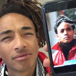 The moment you realize your son doesn't only look like his father :) @officialjaden