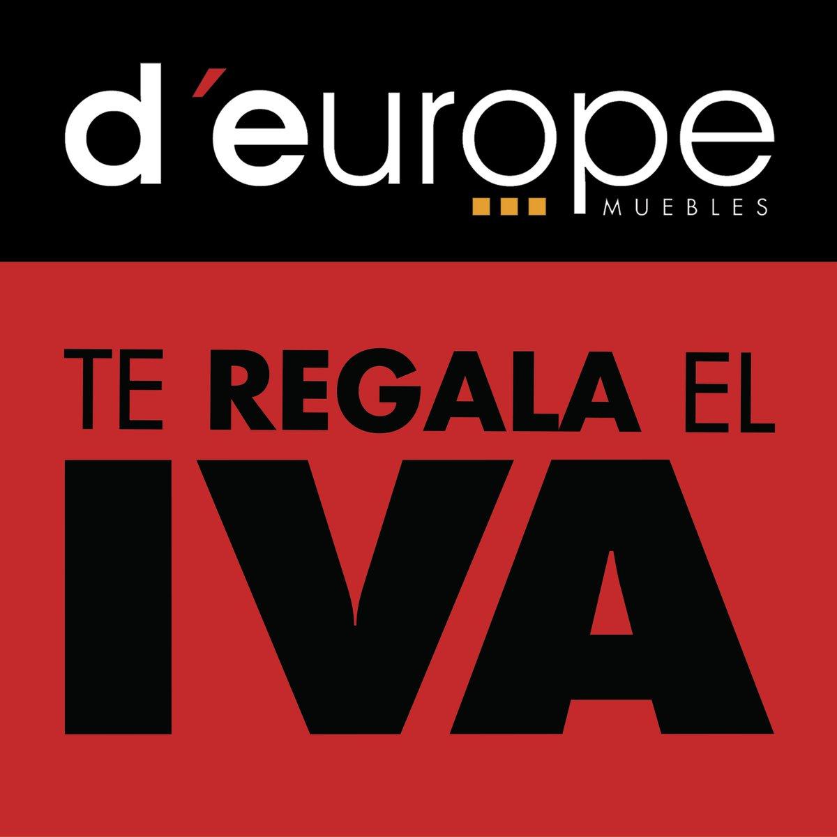 D Europe Muebles On Twitter D Europe Muebles Te Regala Una Parte  # Muebles Deurope