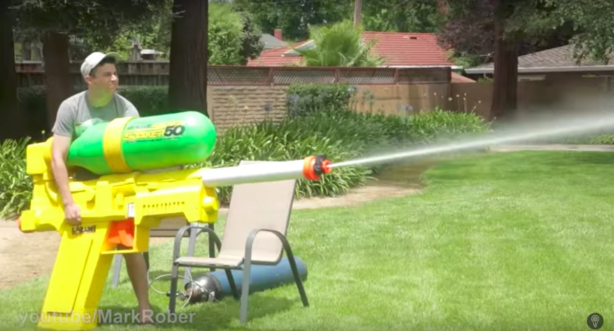 The Worlds Largest Super Soaker Can Cut Through Glass - This is the worlds biggest super soaker and it shatters windows