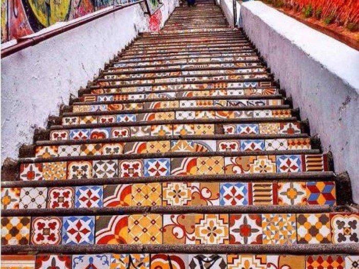 #Valparaíso ✵ Escalera Cienfuegos  ✵  #e...