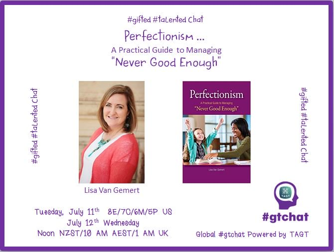 "Thumbnail for #gtchat: Perfectionism A Practical Guide to Managing""Never Good Enough"""