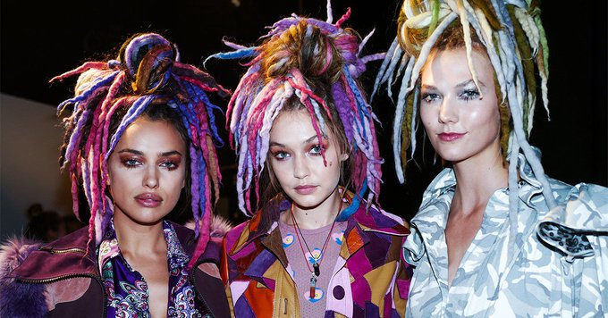 The Models at Marc Jacobs Wore Dreadlocks on the Runway, and People Have Thoughts