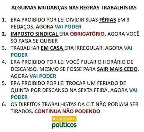Qualquer Reforma que nos direcione para um Estado mínimo, tem que ser comemorada. Boa noite Brasil do bem e trabalhadores de verdade!