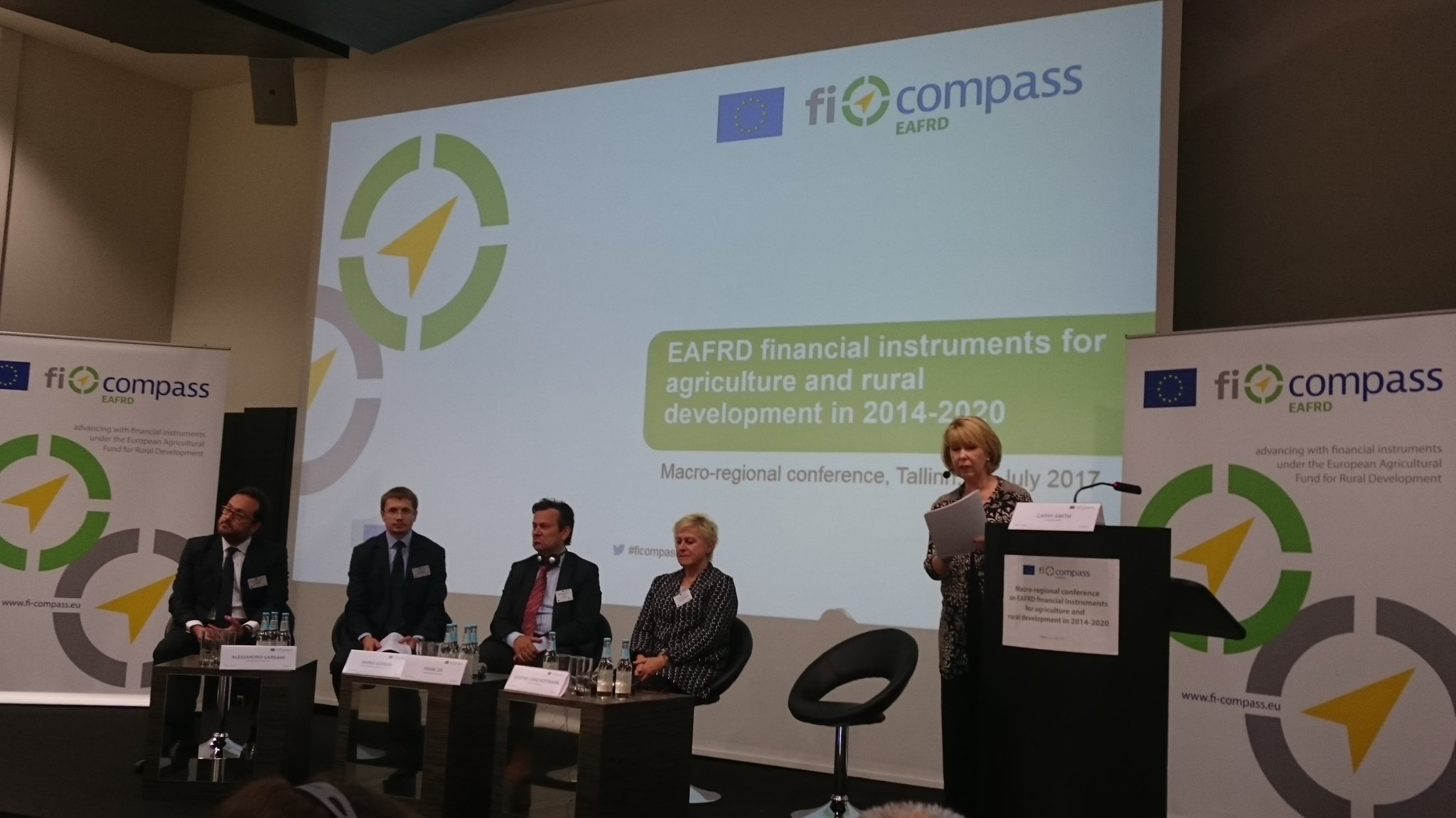 #ficompass conference in Tallinn today highlighting the opportunities of financial instruments for agriculture and rural development #EAFRD https://t.co/cjSf8xfXqM