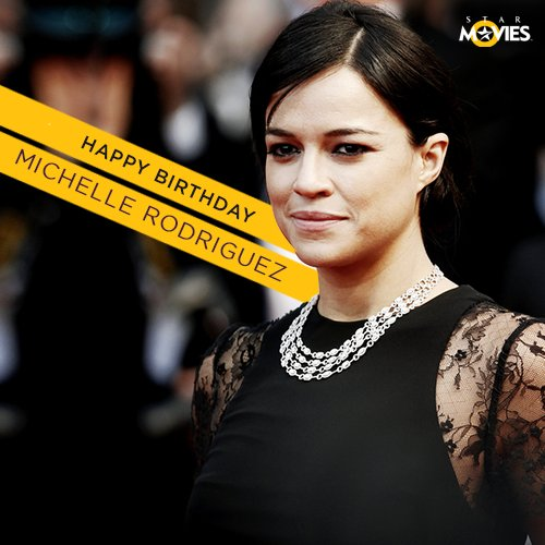 Happy Birthday to beauty and brawn personified, Michelle Rodriguez!