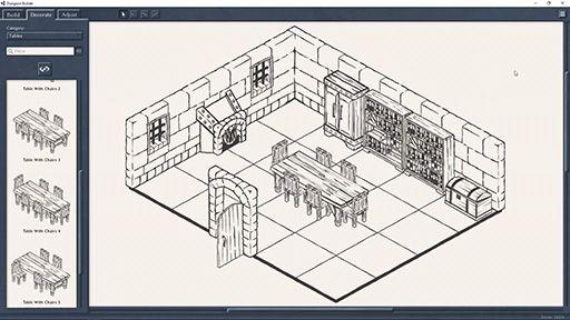 おぉ。そっち系の人に受けそう。 /手描き風の美しいダンジョンマップを描けるソフト「Dungeon Builder」が登場。描いたマップでテーブルトークRPGをプレイできる buff.ly/2sPvTi5