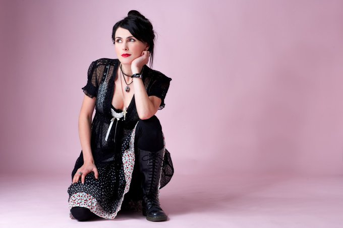 BraveWords666: Happy Birthday to Sharon den Adel of Within Temptation. Fun Fact: She has a bachelor\s degree in fa
