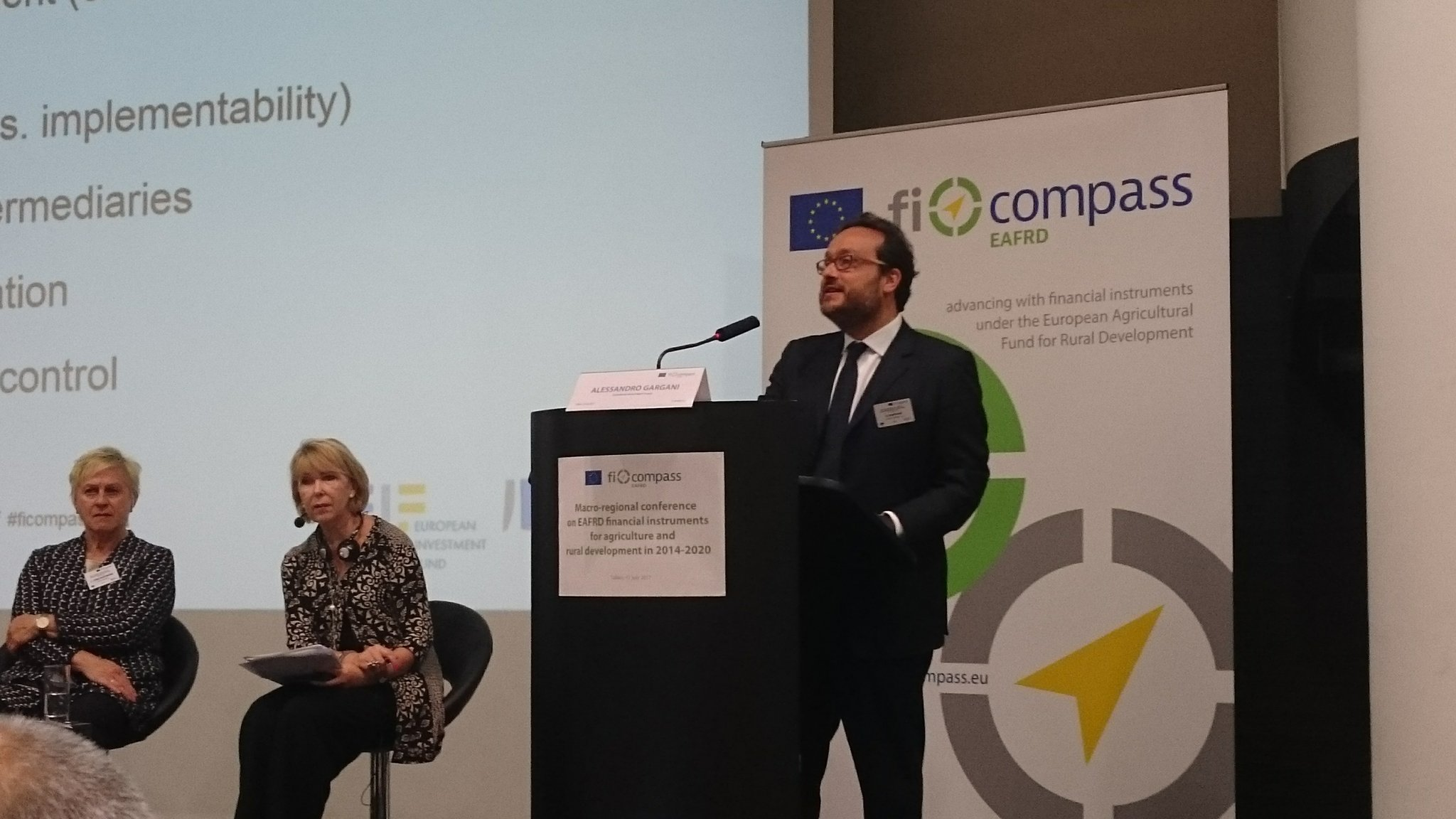 European Investment Fund: #financialinstruments are not an alternative to grants, they are complementing other support schemes. #ficompass https://t.co/NZmox4KSeN
