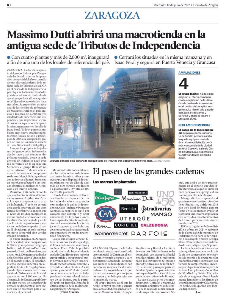 Rosa Santos F On Twitter La Revitalización Comercial Del Centro