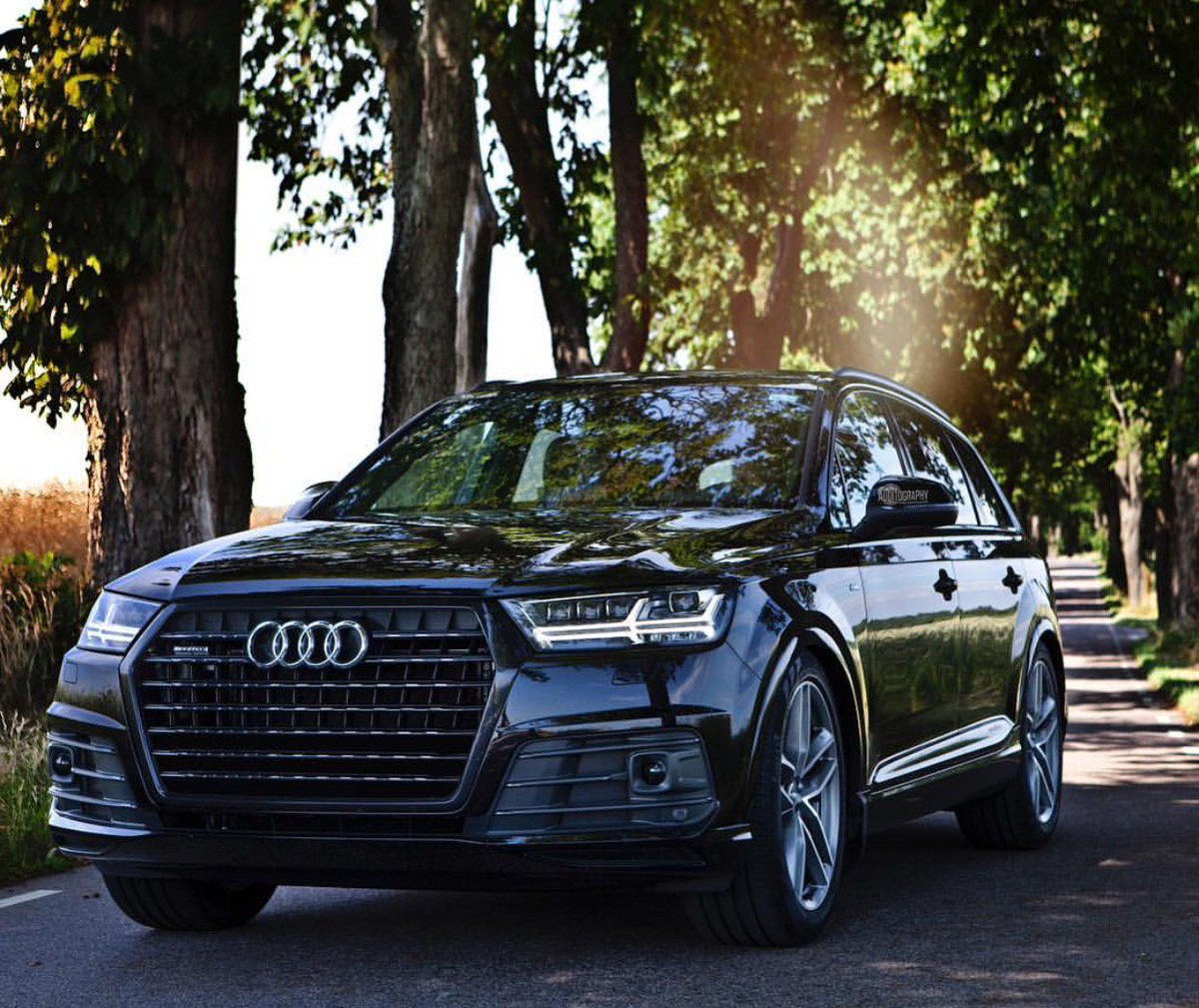 2017 Audi Q7 Black Optic Package