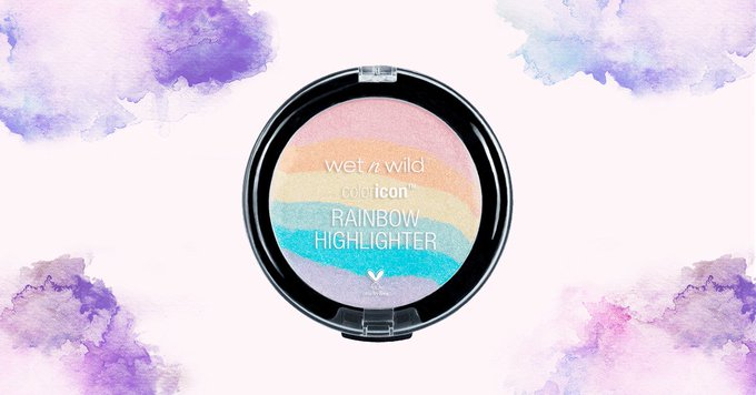 This $5 Wet N Wild Rainbow Highlighter Is Everything