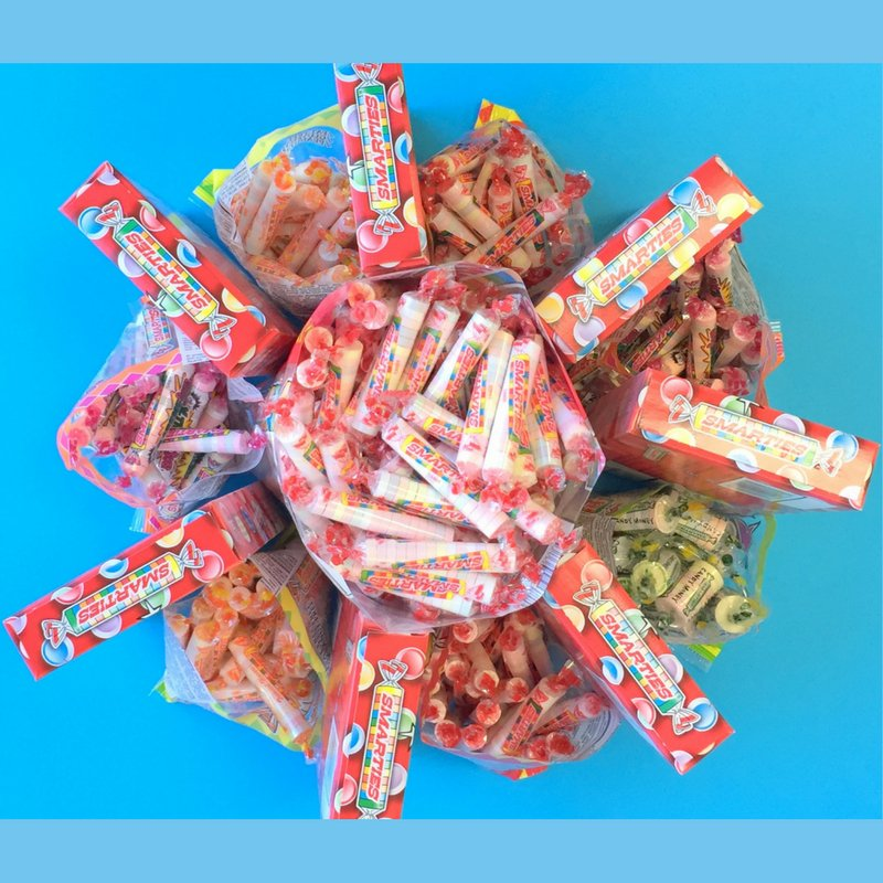 Did You Know?? Smarties are made around the clock with production that runs 24 hours a day!!