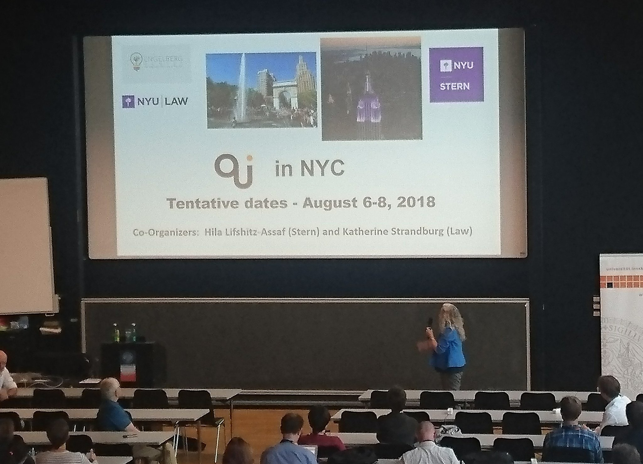 Next year 16th International Open and User Conference #NewYork #oui2017 #oui2018 ;-) https://t.co/NQJgnfIPRP