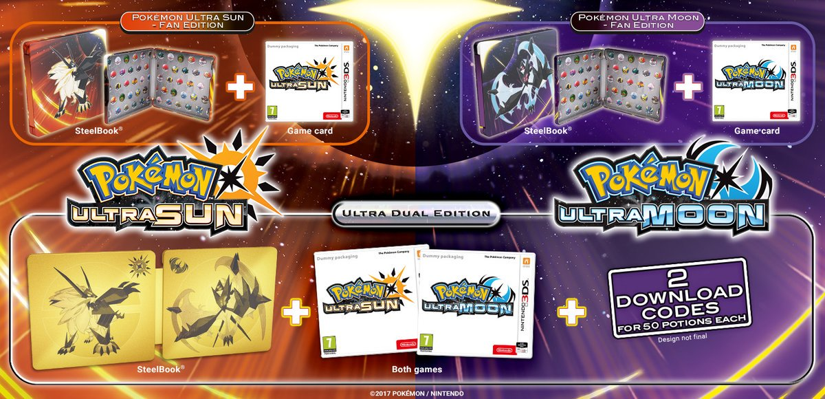 ultra sun and moon editions
