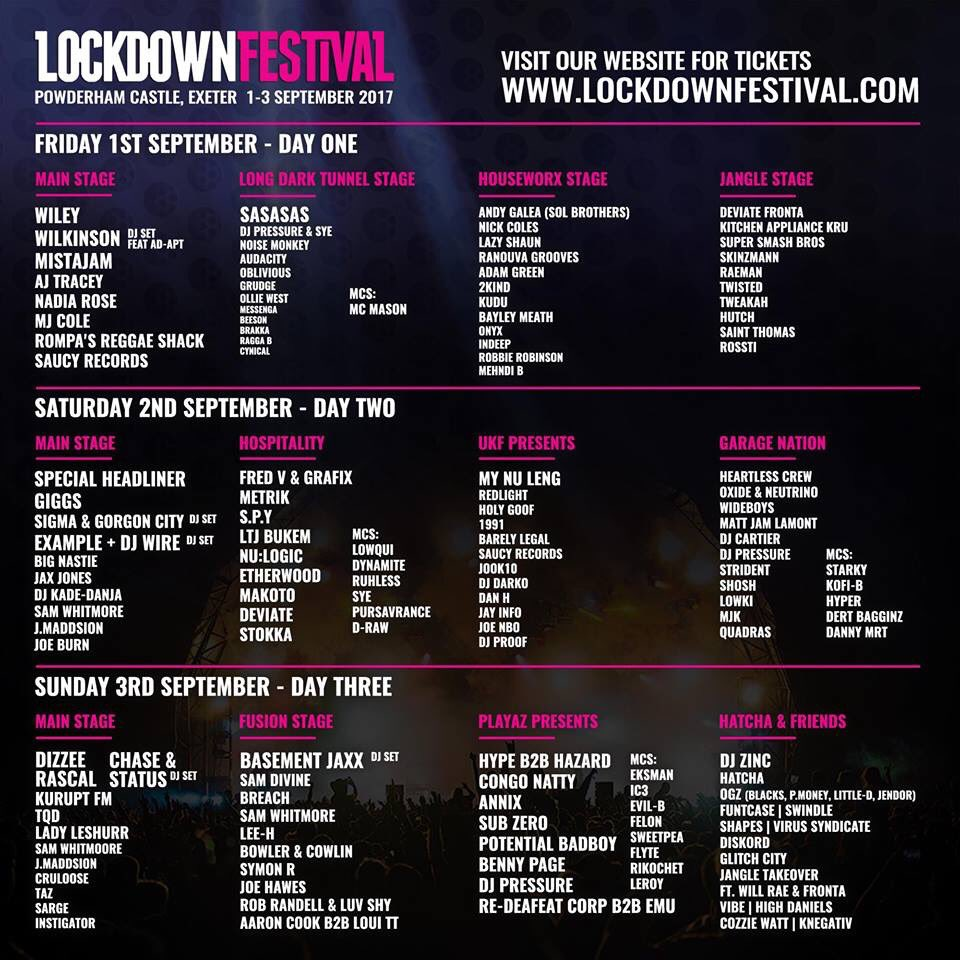 ✨ COMPETITION TIME ✨  To win 2 x VIP weekend tickets to @lockdownfest retweet + like this post