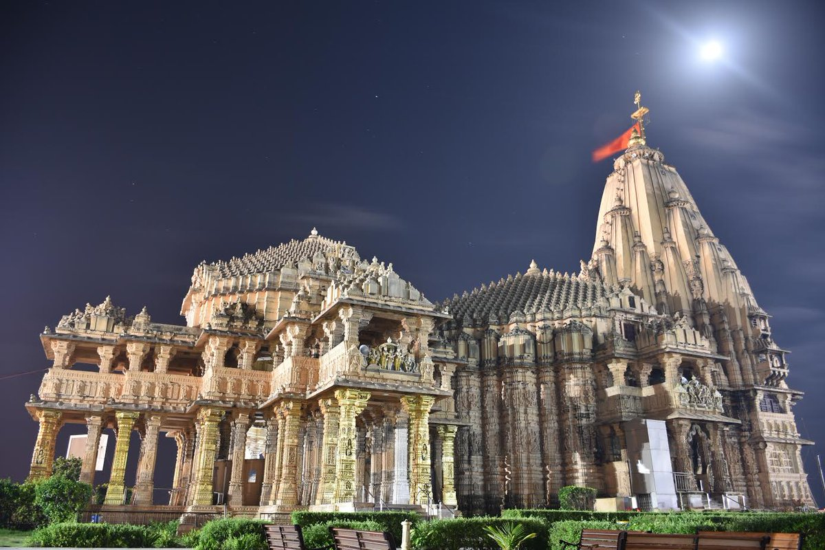 Somnath temple to remain open for 22 hours due to Lunar eclipse on August 7