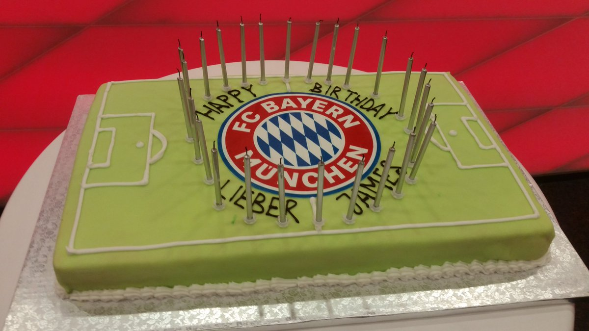 Bayern Germany On Twitter Surprise Cake For Birthday Boy James
