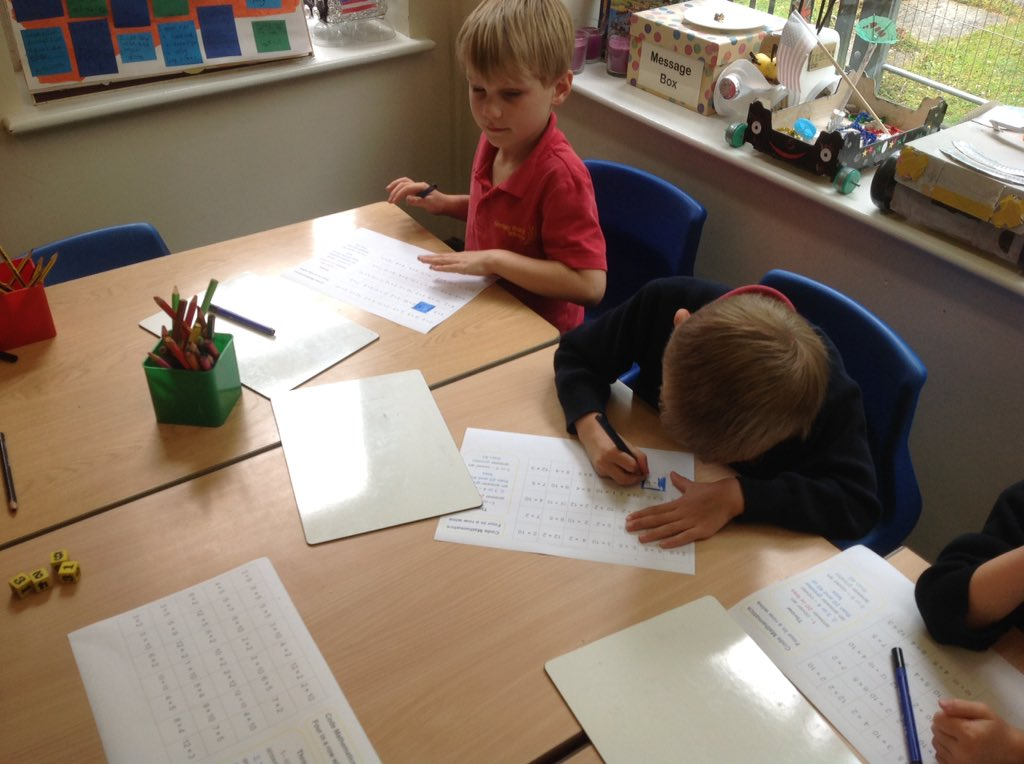 test Twitter Media - Superb problem solving and reasoning Y1 using code Maths 'Four in a row' great multiplication and division going on :) https://t.co/j5DkZJrSLL
